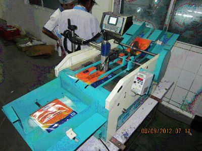 Big Label Feeder Machine